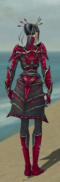 Necromancer Elite Necrotic Armor F dyed back