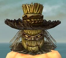 Scarecrow Mask gray front