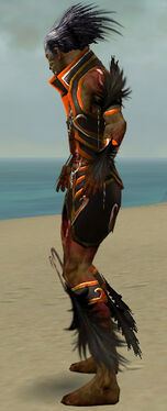 Necromancer Sunspear Armor M dyed side