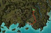 Zaln the Jaded map