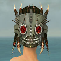 Dread Mask F gray front