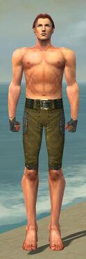 Mesmer Ascalon Armor M gray arms legs front