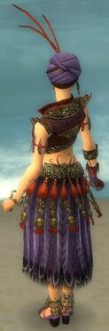 Ritualist Asuran Armor F dyed back
