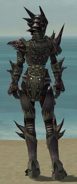 Warrior Primeval Armor F gray back