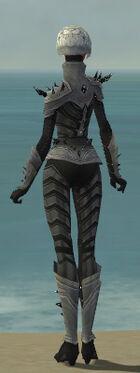 Elementalist Obsidian Armor F gray back