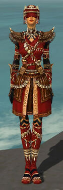 Ritualist Imperial Armor F dyed front