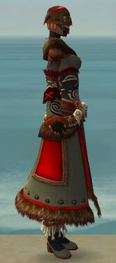 Ritualist Norn Armor F gray side