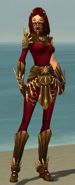 Ranger Elite Sunspear Armor F dyed front