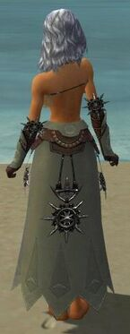 Dervish Elite Sunspear Armor F gray arms legs back