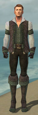 Mesmer Performer Armor M gray front