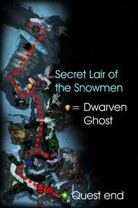 Secret Lair of the Snowmen Map