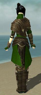 Shining Blade Uniform F body back