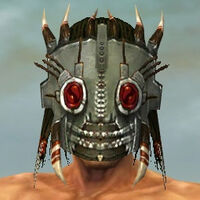 Dread Mask M gray front