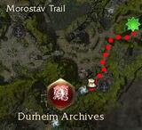 Falaharn Mistwarden map