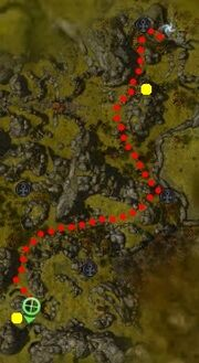 Raven locations in Sacnoth Valley