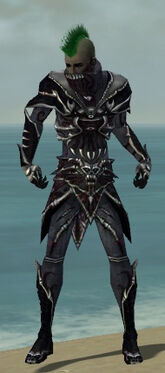 Necromancer Elite Necrotic Armor M dyed front