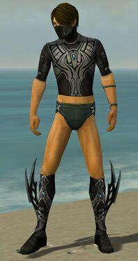 Assassin Vabbian Armor M gray chest feet front