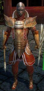 General Morgahn Starter Armor Front