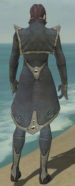Elementalist Tyrian Armor M gray back