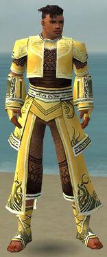 Monk Deldrimor Armor M dyed front