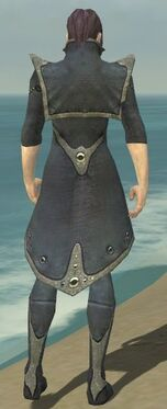 Elementalist Tyrian Armor M gray chest feet back