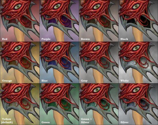 Plagueborn Shield dye chart
