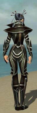 Necromancer Elite Sunspear Armor F gray back