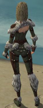 Ranger Elite Fur-Lined Armor F gray back