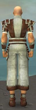 Monk Censor Armor M gray back