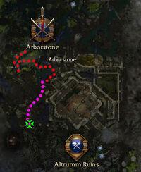 Dark Fang map