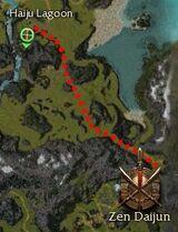 Takara Taji map