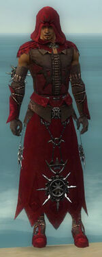 Dervish Elite Sunspear Armor M dyed front