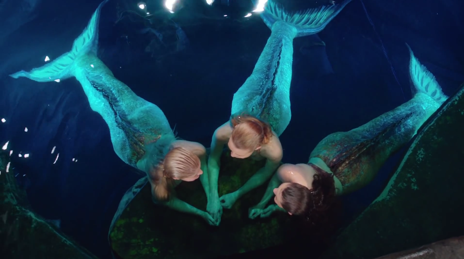 Image - Mako Mermaids In Moon Pool.png - H2O Just Add Water Wiki ...