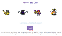 Class Choice Option