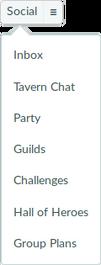 Social menu