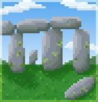 Background stone circle