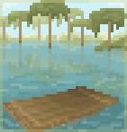 Background drifting raft