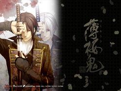 Hakuouki hijikata toshizou2 wallpaper 1024x768