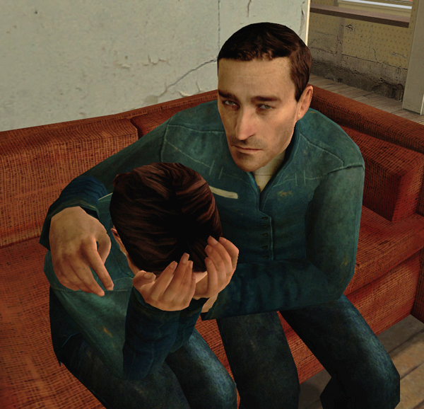 Consoling couple half life wiki fandom powered by wikia for Half life 2 architecture
