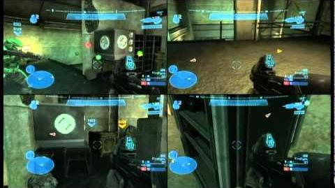 Halo Reach 4 Player Splitscreen Co-op Glitch Tutorial