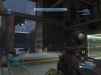 Spartan III HUD Halo Reach Beta