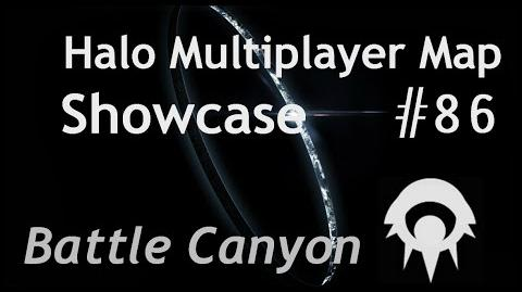 Halo Multiplayer Maps -86 - Halo CEA- Battle Canyon