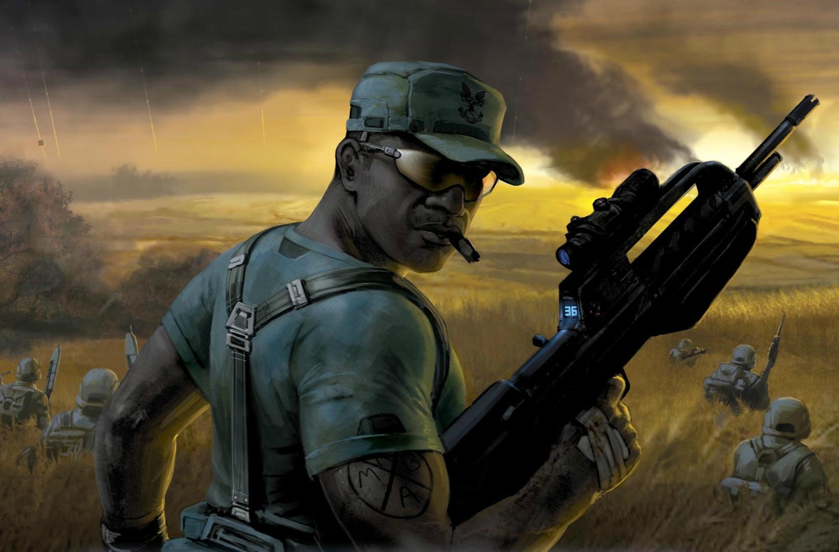 XBR55 Service Rifle | Halo Nation | Fandom powered by Wikia