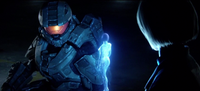 Catherine Halsey Providing Chief with Cortana