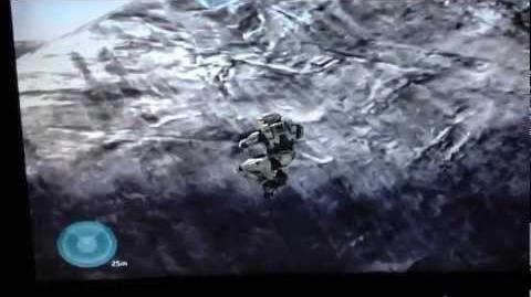 Halo 3 - The Covenant Launch Out of Map