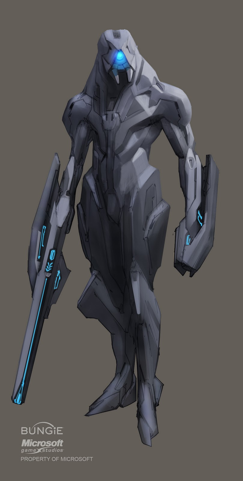 I appreciate how Distinct each Alien Species in Halo is. : halo