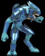Halo 1 Blue Elite Action Figure