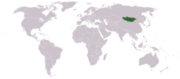 Mongolia location