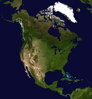North America satellite