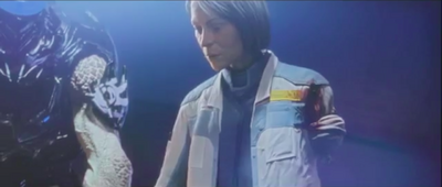 Catherine Halsey After Having Arm Shot